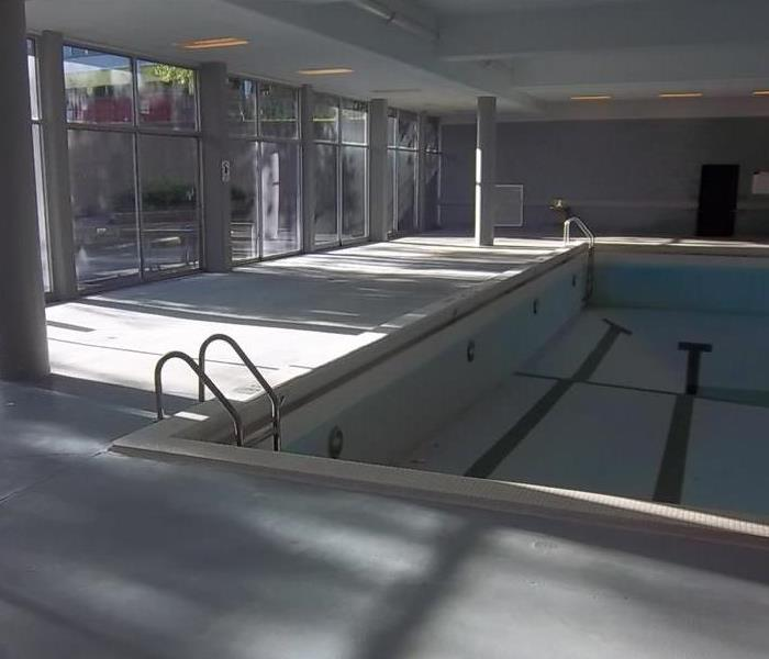Dekalb, IL apartment complex pool floods After