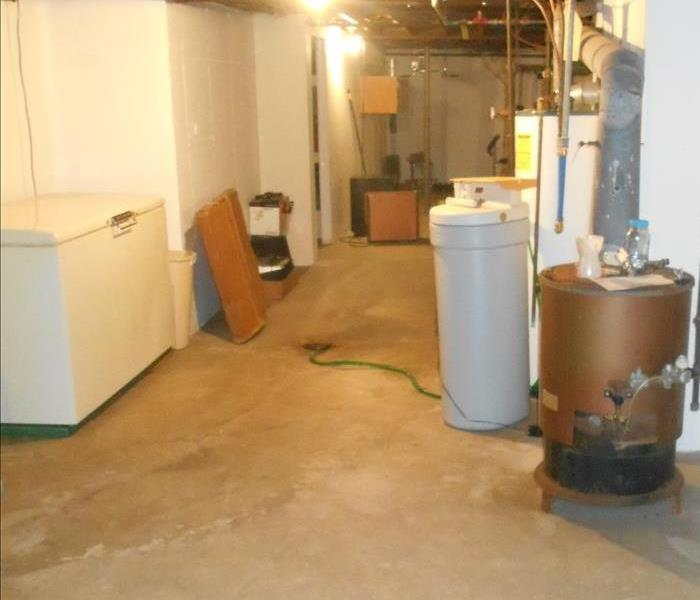 Sewer backup in Sterling, IL After