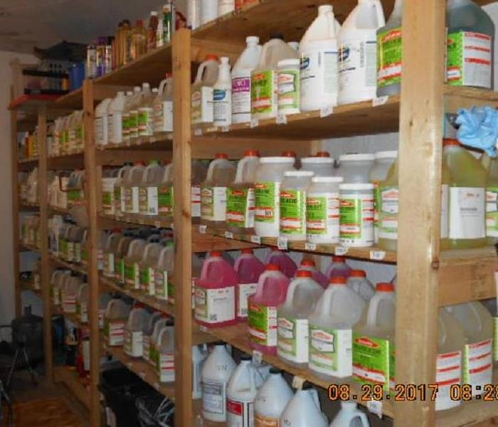 Our cleaning agents inventory