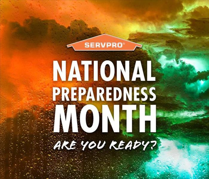 National Preparedness Month Promotional Banner